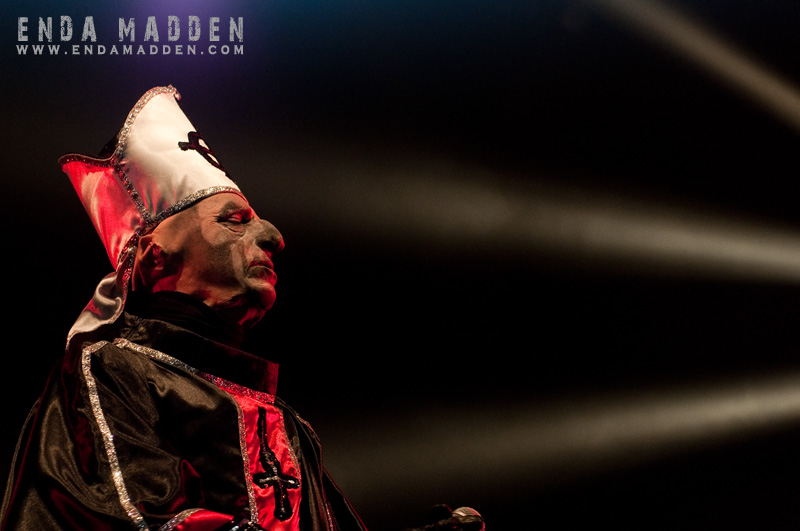 Diary Of A Rock Photographer » Ghost at Download 2011