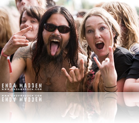 2009 Bloodstock...Turisas Crowd by Enda Madden