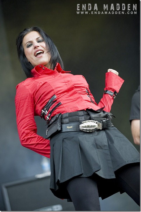 2009 Lacuna Coil at Download 053 by Enda Madden copy