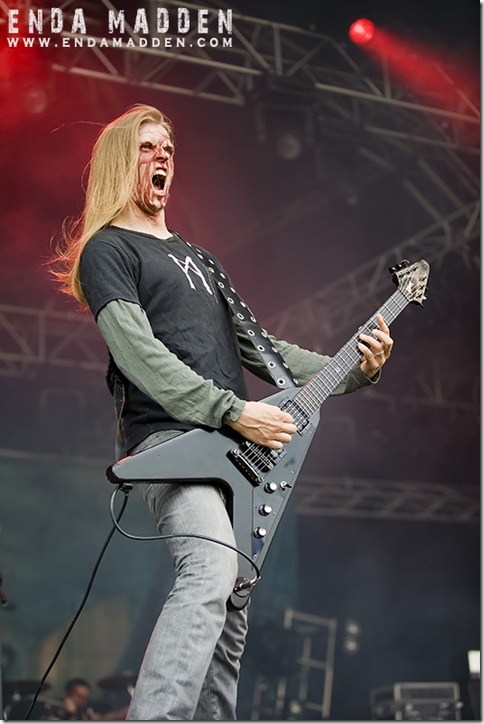 Moonsorrow at Bloodstock
